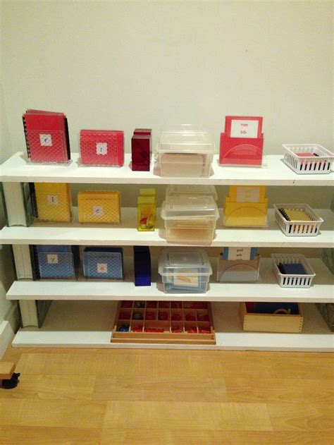 montessori bookshelves 46 best images about montessori shelves language on