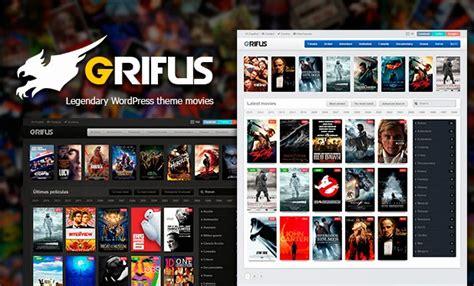 templates blogger peliculas grifus legendary wordpress movies theme free download v1 3