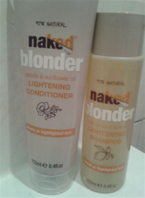 drugstore hair products to lighten hair jen s hair reviews naked blonder lightening shoo