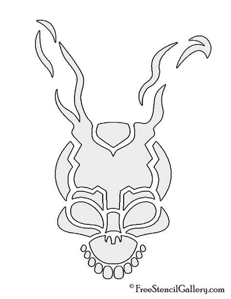 Frank The Bunny Outline by Donnie Darko Frank The Bunny Stencil Free Stencil Gallery