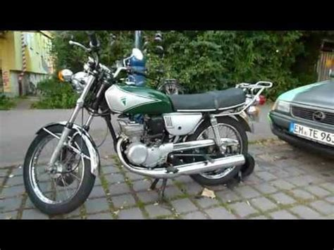 Suzuki Motorrad Youtube by Suzuki Gt 125 Motorrad Youtube