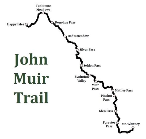 john muir trail sections hiking the jmt planning gear and trail journal