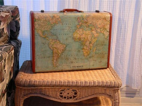 Decoupage Vintage Suitcase - best 25 decoupage suitcase ideas only on