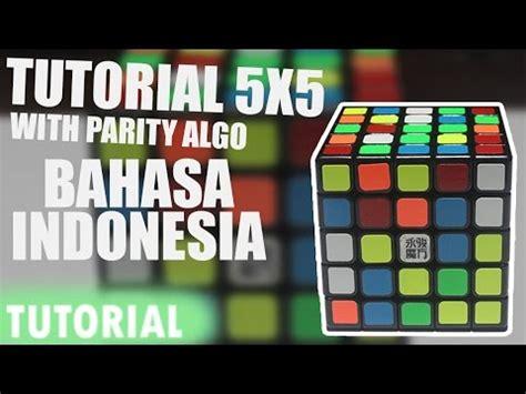 video tutorial menyelesaikan rubik 3x3 cara bermain rubik 5x5 04 cara bermain