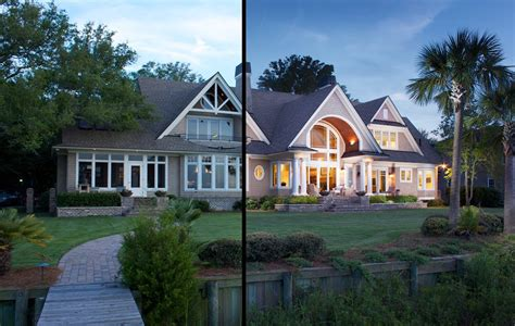how to photograph real estate houses at dusk and sunset