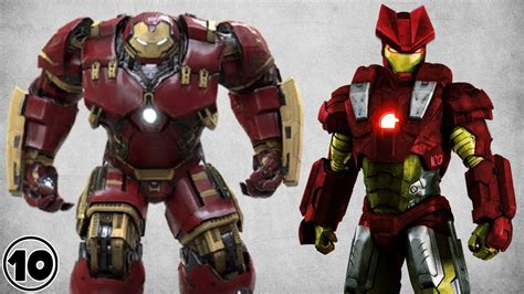 best iron man suit top 10 alternate iron man suits doovi