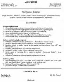 free resume sles an effective functional resume
