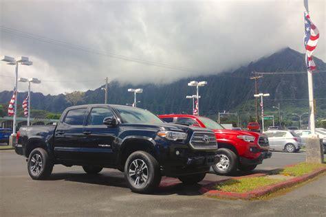 Toyota Kaneohe Hawaii Usa Year 2015 Toyota Tacoma Upholds Decades