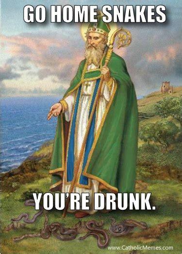 St Patrick S Meme - st patrick makes a meme