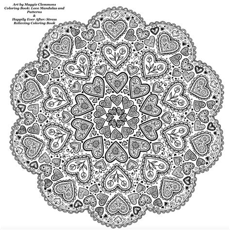 libro lovely mandalas beautiful patterns free coloring pages from maggie clemmons coloring worldwide