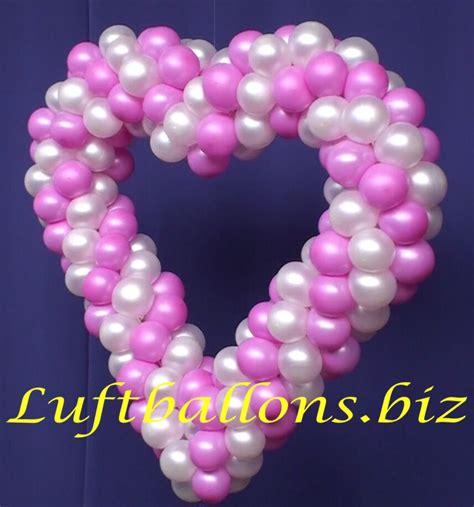 Hochzeitsdekoration Herz by Herz Aus Luftballons Hochzeitsdekoration Lu Hochzeit Herz