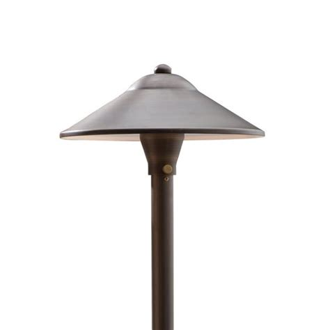 Path Lighting Fixtures Max Spread Brass Path Area Light Bronze Finish Volt