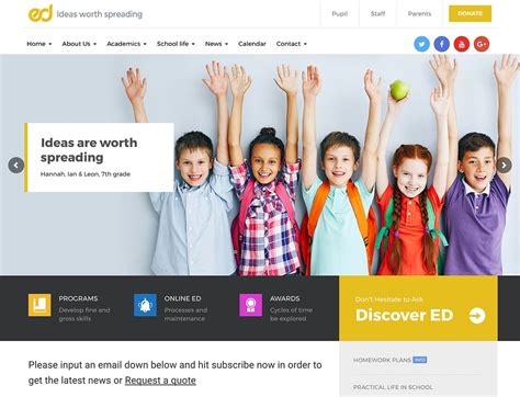 40 Best Education Wordpress Themes 2018 Athemes | 40 best education wordpress themes 2018 athemes