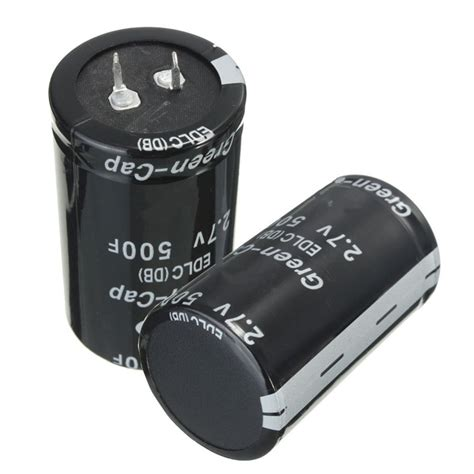 2 0 farad capacitor price sale newest 1pcs black farad capacitor 2 7v 500f 35x60mm capacitor 60mm diy new