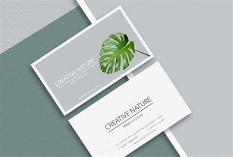 4 side free psd business card templates actions free business card psd mockup responsive joomla and