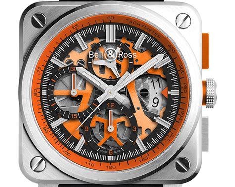 Arloji Bell Ross bell ross rilis koleksi terbatas arloji br 03 94 aerogt orange luxuo indonesia