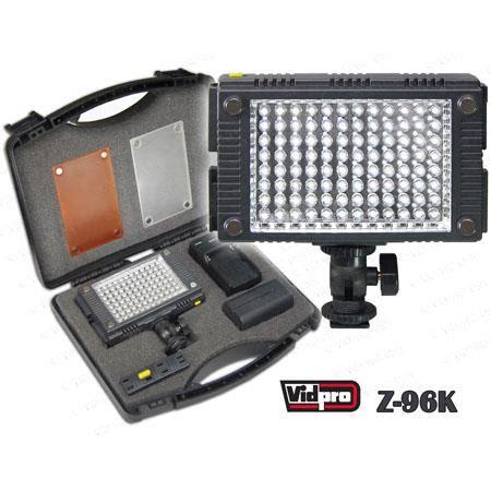 vidpro professional led light vidpro z 96k professional photo led light kit z 96k