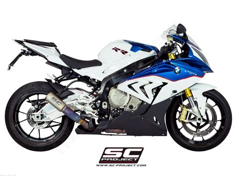Model Kit Bmw S1000 Rr cr t exhaust with titanium link pipe by sc project bmw