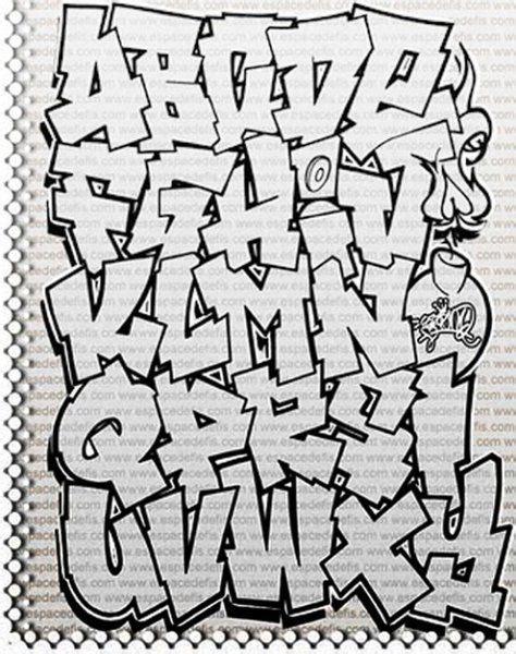 graffiti alphabet bubble letters   graffiti letter