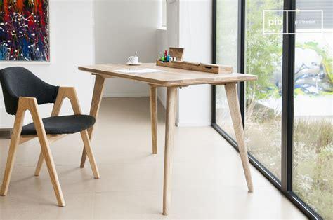 moka bureau   elegant clear wood pib