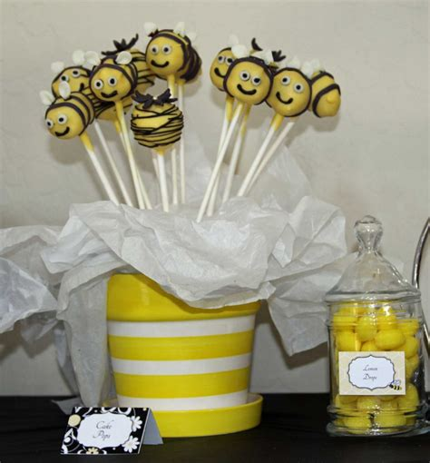 Bumble Bee Themed Baby Shower by Renees Soirees
