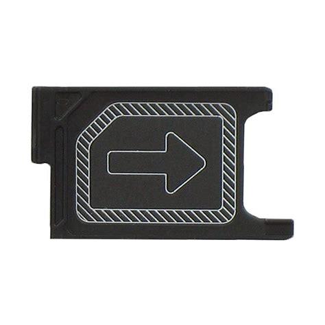Sim Trey Sony Z3 replacement micro sim card tray sony xperia z3 black