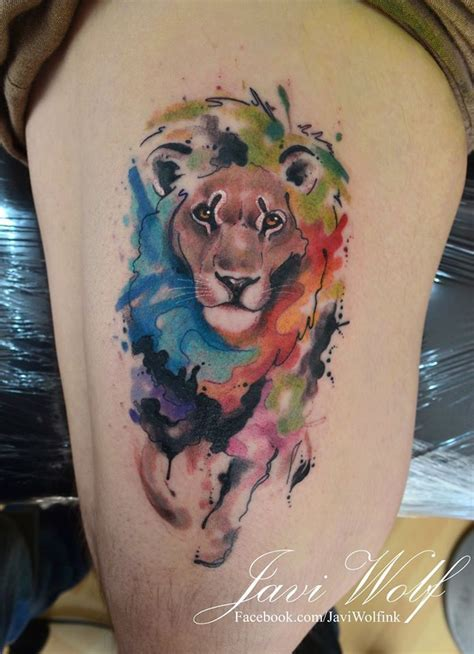leo tattoos for men ideas and inspiration for guys watercolor tattoo lion tattoos for men ideas and image