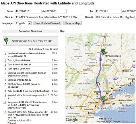 Search Distance Between Two Addresses Distance Between Two Locations With The Help Of Latitude