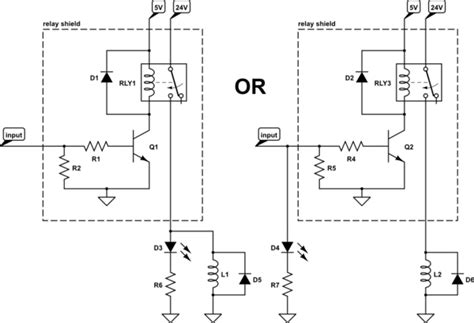 resistor in parallel with solenoid arduino how to place an indicator light for 24 vdc solenoid valve electrical engineering