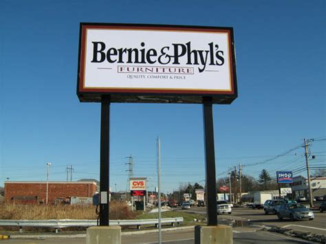 Bernie And Phyl S Furniture Store by Raynham Ma Bernie Phyl S Furniture Store Pylon Sign