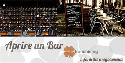 licenze somministrazione alimenti e bevande quali documenti servono per aprire un bar