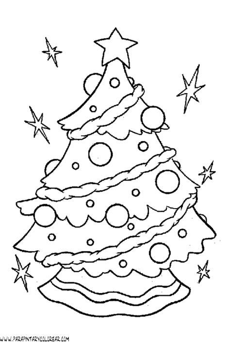 dibujos para colorear de arboles de navidad mam trillizos
