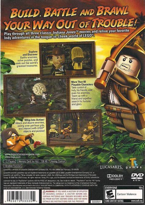 Original Adventure lego indiana jones the original adventures sony