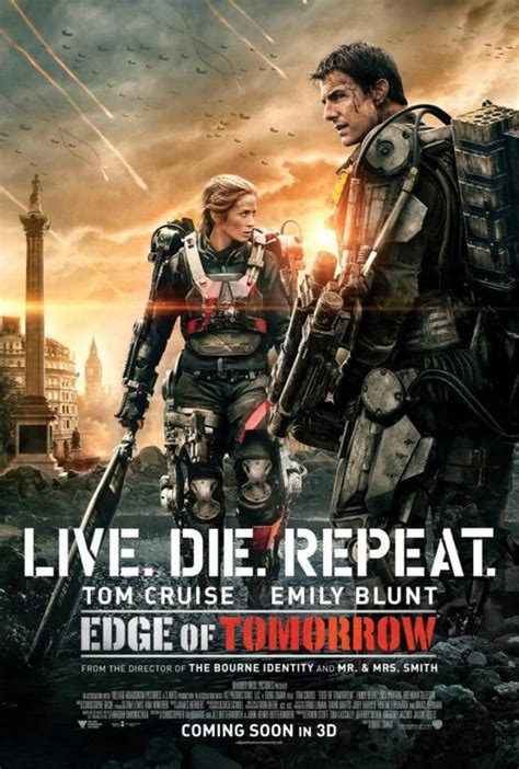 film streaming edge of tomorrow tom cruise s edge of tomorrow gets repositioned as live