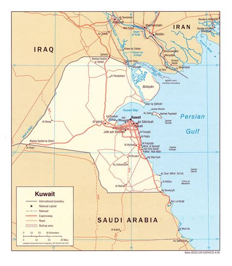 Kuwait Address Finder Large Kuwait City Maps For Free And Print High