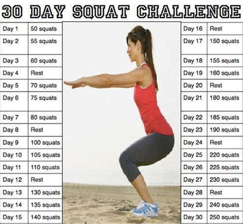 what is the squat challenge my challenges for the month squat and crunch missaddym