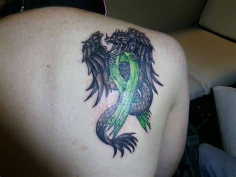 lymphoma tattoos designs with cancer ribbon creativefan
