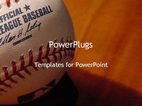 free baseball powerpoint template free free baseball themed powerpoint templates