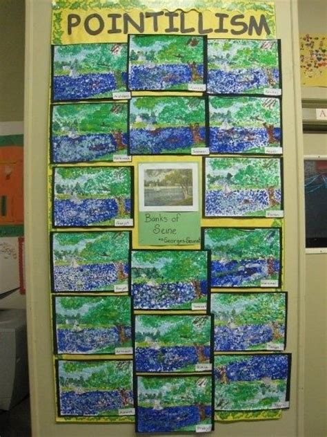 ideas for ks2 science club pointillism for kids google search teaching art
