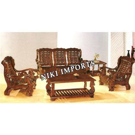 indian wooden sofa set designs designer wooden sofa at rs 45000 no s wooden sofa id