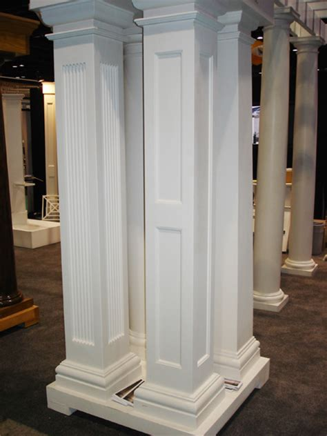 Post Columns Square Fiberglass Porch Columns Curb Appeal Products