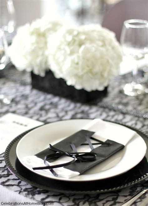 black dinner black and white birthday dinner pictures to pin on