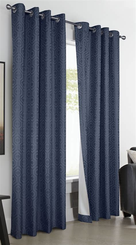 Solid Color Curtains Highgate Insulated Blackout Grommet Top Thermaplus Curtains Solid Color 8 Grommets Curtains