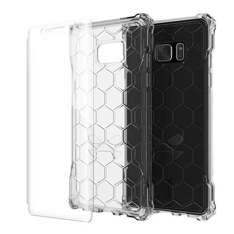 Samsung Note 7 Casing Cover Hybrid Bumper Armor Softcase 1 note 7 ghostek 174 covert series for samsung galaxy note 7 premium impact slim hybrid