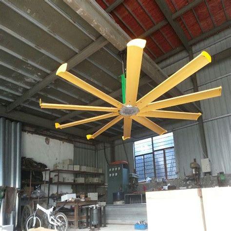 Kipas Hvls kualitas tinggi hvls tipe 7 2 m hemat energi industri kipas langit langit dengan sertifikat ce