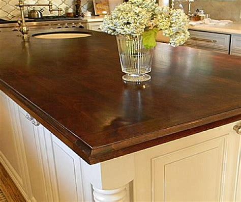 choosing wood countertops