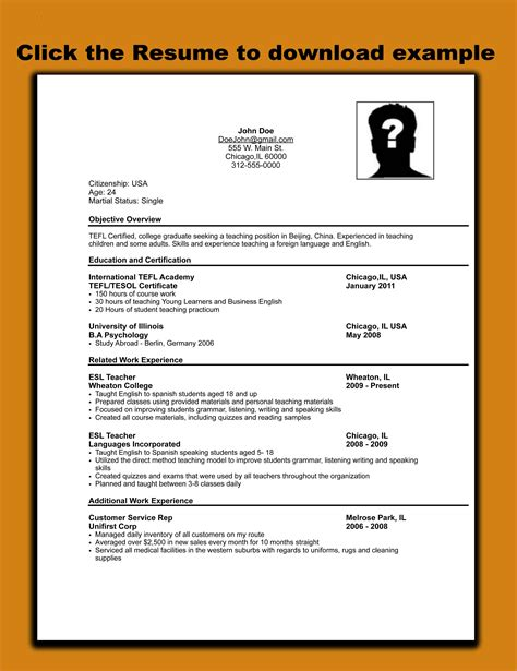 cv format georgian download resume format job application letter format template