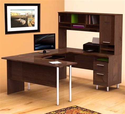 L Shaped Work Desk Traditional Home Office Furniture Benefits