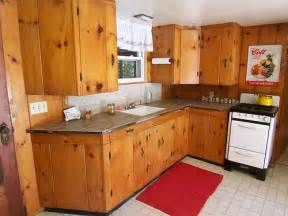 Knotty Pine Kitchen Cabinets Knotty Pine Kitchen Flickr Photo