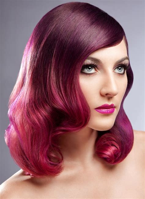 k hair color inspirational hair color purple pink violet